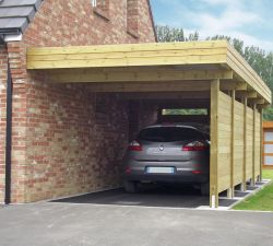 Protect your car with a carport