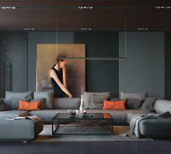 How to Artistically Arrange Paintings in Your Living Room