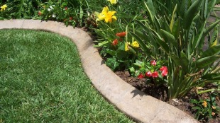 how-to-make-concrete-garden-edging