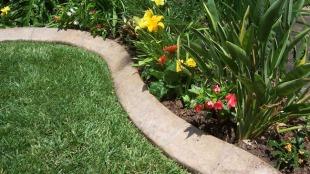 how-to-make-concrete-garden-edging