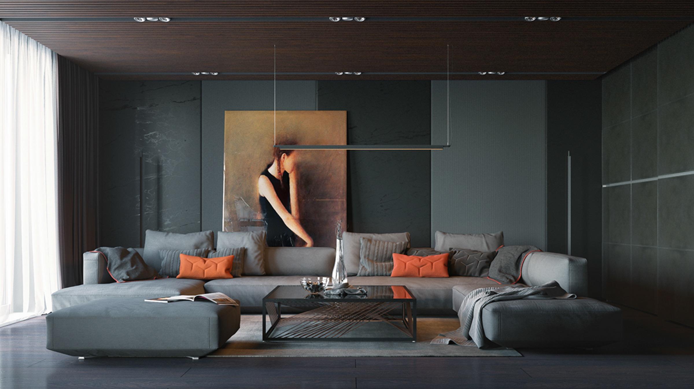 orange-and-black-interior-artwork-ideas (1)